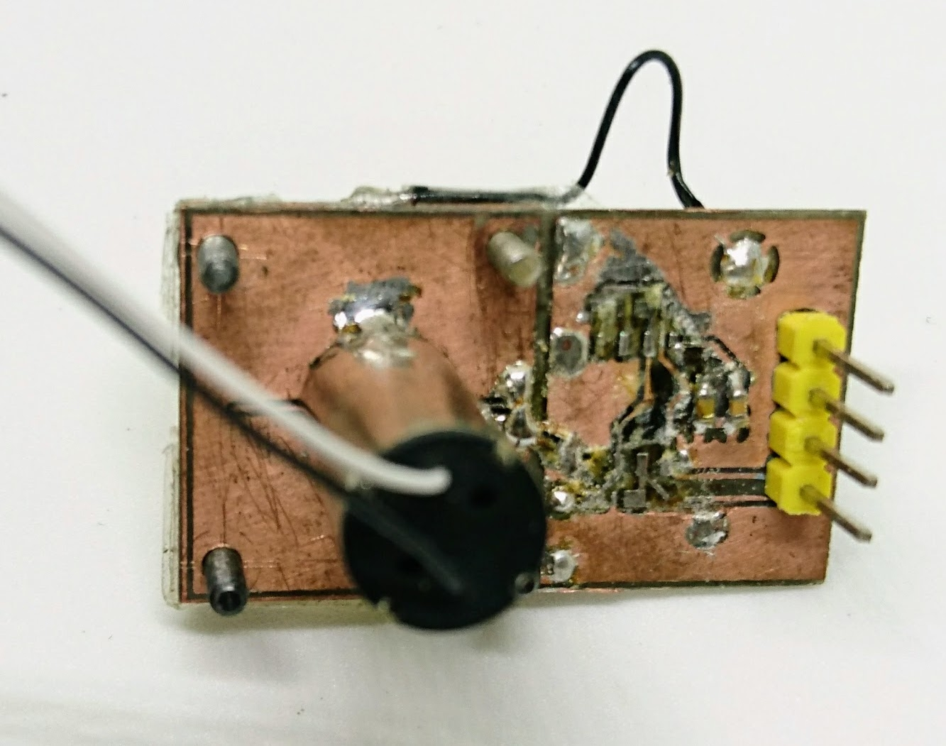 Rotational encoders on the cheap – the capacitive way – mind dump()